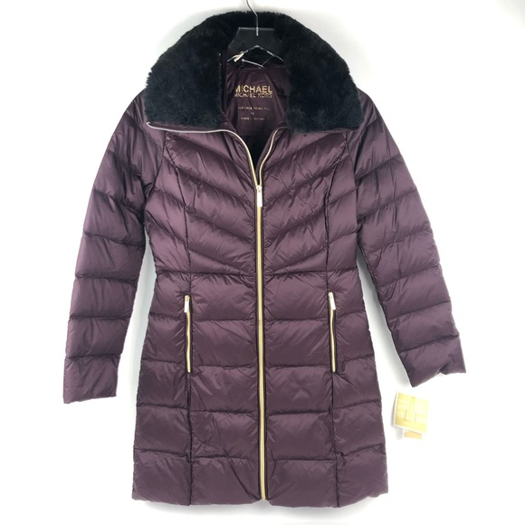 c2f1c208ae6 Michael Kors packable down puffer jacket coat
